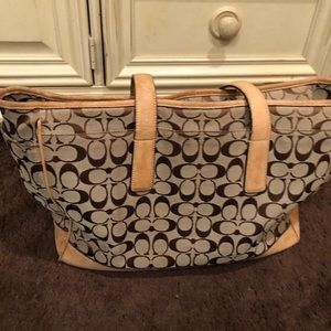 Coach diaper bag